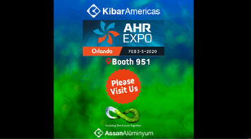 Kibar Americas will get together with its business partners at the AHR 2020 Orlando